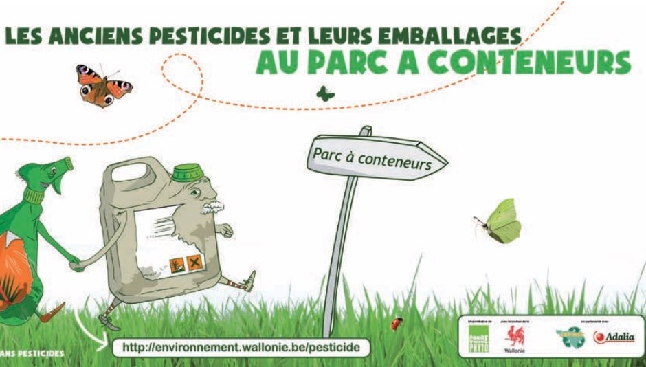 Programme Wallon pour la réduction des pesticides